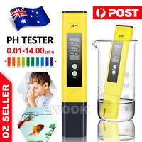 PH Meter Test Pen Digital Electric Portable Water Hydroponics Aquarium Tester AU