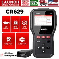 LAUNCH OBDII Scanner Car ABS Airbag SRS OBD2 Code Reader Engine Check Diagnostic