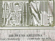 TOM's 1/350 USS Arizona Photo-etched detail 3528 x