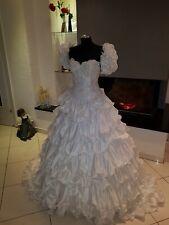 So schön ! Sissy Brautkleid Gr. 36 weiss von Sarlini Markenbrautkleid