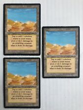 MtG | 3x Desert | Arabian Nights | Old School | Magic | * Kult