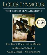 Louis L'Amour: Black Rock Coffin Makers; A Mule for Santa Fe/Case Close CD *NEW*