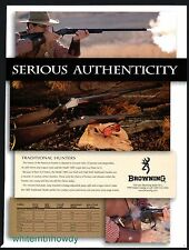 2000 BROWNING Model 1885 High & Low Wall Traditional Hunter Rifle AD