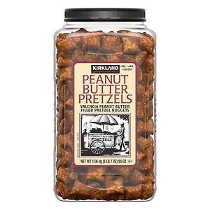 Kirkland Signature Valencia Peanut Butter Filled Pretzels Nuggets 1.56kg