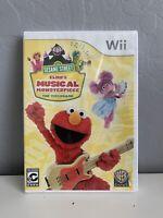 Sesame Street: Elmo's Musical Monsterpiece (Nintendo Wii, 2012)