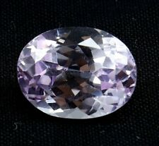 10.70 Ct AMAZING Natural Pink Kunzite Oval Cut AGSL Certified Loose Gemstone