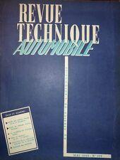 Revue technique SIMCA MONTE CARLO VENDOME RTA 109 1955 BV PONT A MOUSSON 4 CV