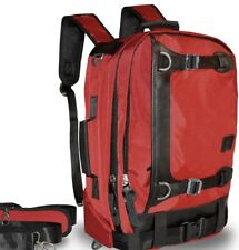 Red Backpack Harness Messenger Computer Bag Briefcase Satchel Travel,Business