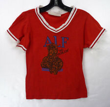 """Vintage 80s ALF """"No Problem"""" TV Alien Youth Boys T-Shirt As-Is Crafts Fabric S"""
