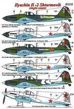 AML Models Decals 1/72 ILYUSHIN IL-2 STURMOVIK Single Seat Attack Plane