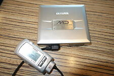 Aiwa hx30 MD Player + Remote. + al + accesorios MiniDisc metal