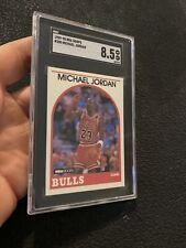 Michael Jordan SGC 8.5 NBA Hoops 1989 Collector Card #200 Chicago Last Dance