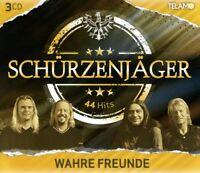 SCHÜRZENJÄGER - WAHRE FREUNDE 3 CD NEU
