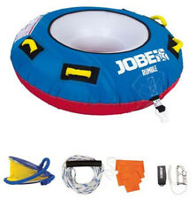 Jobe Rumble 1 Person Inflatable Towable Package Tow Rope Pump