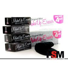 MakeUp Eraser The Mini Panno Struccante Rimuovi Trucco Riutilizzabile Nero 4 Pz