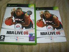 NBA LIVE 06 XBOX PAL ITALIANO COMPLETO EA SPORTS CONTOVENDITA