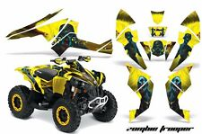 CanAm Renegade500/800/1000 AMR Racing Graphic Kit Wrap Quad Decal ATV All ZOMBIE