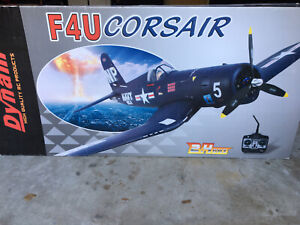 DYNAM RC Airplane F4U Corsair 1270mm Wingspan - BNP-with Flaps