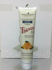 New Young Living Essential Oil Infused Thieves Whitening Toothpaste 4 oz