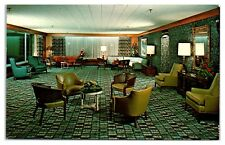 1950s/60s Kenwood Golf & Country Club East Lounge, Bethesda, MD Postcard