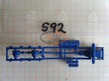 2x ALBEDO Ersatzteil Ladegut UFS schwarz Rahmenteil LKW zB MB SK H0 1:87-2173