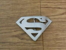 Superman Logo Belt Buckle