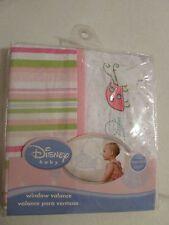 """NEW Disney Baby """"Sweet Pooh""""  Window Valance Pink Ladybug"""