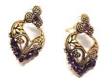 Jhumki Jewelry PushBack Classy Gift 59 Golden Oxidized Women Earring Bali Jhumka