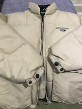 Sonneti Original Vintage 90's Puffer Puffa Jacket (Men's) Sz Small Wheat Colour