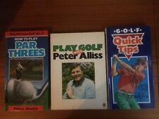3 Golf (Tips) livres