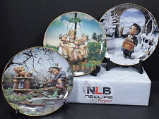M.I. Hummel Calendar Plate Collection Signs of Spring, Maypole & Valentines Day
