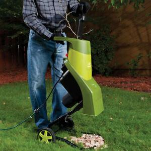 Sun Joe Electric Wood Chipper/Shredder | 14-Amp | NEW