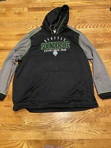 seattle Sounders FC hoody hoodie sweater XXL 2XL *flaw