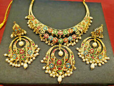 Indian Jewelry New High Quality Stylish Hyderabad Fashion Necklace Set BA 746