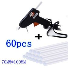 Hot Melt Glue Gun + Sticks Electric Heating DIY Applicator Mini Kit Arts Craft