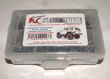 AXIAL RACING SCX10 II JEEP CHEROKEE  RC SCREWZ SCREW KIT STAINLESS STEEL AXI023