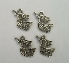 20pcs Tibetan silver angel charms pendant 19x14 mm