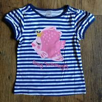 C&A Girls Going Swimmingly Fish Motif top age 2/3/4/5/6/7/8 years