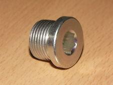 Sensor Port Blanking Plug Bung Metric M20 x 1.5mm Hex Socket DIN908-ST-M20x1,5-A