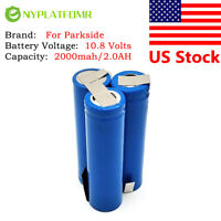 2000mah for Parkside 10.8V tool battery 10.8 A1 45.113.39 11012