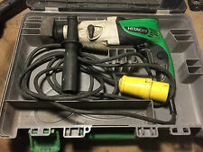 HITACHI DH22PG SDS PLUS HAMMER DRILL 110V FREE POST *SEE VIDEO*