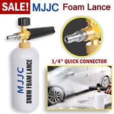 MJJC Pressure Washer Snow Foam Lance 1/4'' Spray Jet Car Wash Cannon Gun 1L