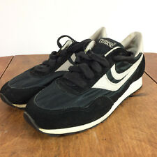 Rare Vintage 70s 80s Traxx Cortez Style Running Athletic Shoes Black Sz 7