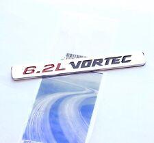 2Pcs OEM 6.2L VORTEC HOOD Emblems Badge for Chevy Silverado GMC Sierra Chrome wu