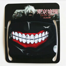 Tokyo Ghoul Cosplay Kaneki Ken Anime Mask Cotton Half Face Mask Cartoon Masks