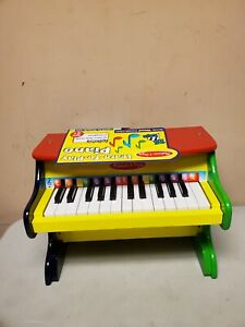 Melissa & Doug Learn To Play Piano Brand New  KEYS A,G Don't WORK Top Loose