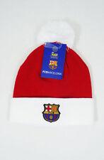 FC Barcelona Beanie Christmas Youth kids boys Soccer Football New W/POM Cap Hat