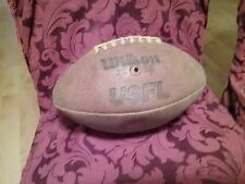 Vintage Usfl Official Wilson Leather Football