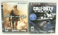 Playstation 3 Call of Duty Game Bundle - Modern Warfare 2 & Ghost