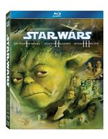STAR WARS Trilogy Episode 1-3 The Complete Collection Season 1 2 3 New Blu-ray